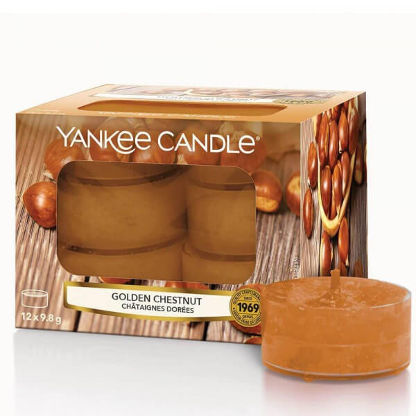 Golden Chestnut 12 Stck von Yankee Candle