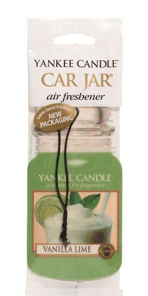 Yankee Candle - Car Jar Vanilla Lime