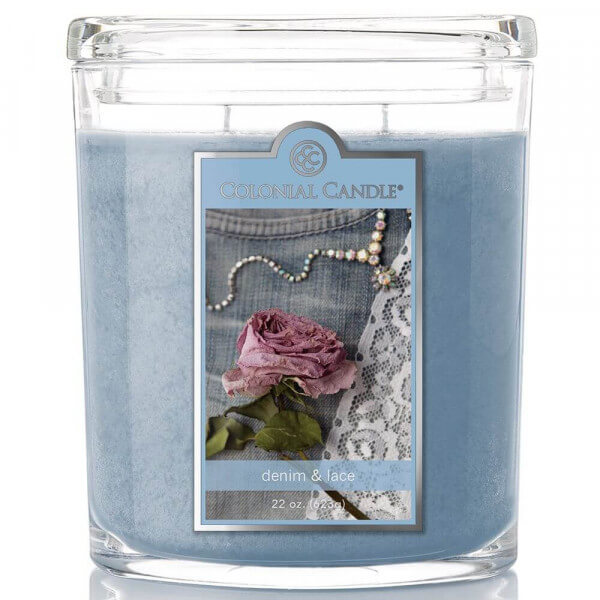 Colonial Candle - Denim & Lace 623g