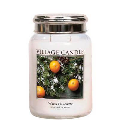 Winter Clementine 626g von Village Candle