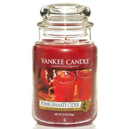 pomegranate cider 623g von yankee candle online bestellen candle dream. Black Bedroom Furniture Sets. Home Design Ideas