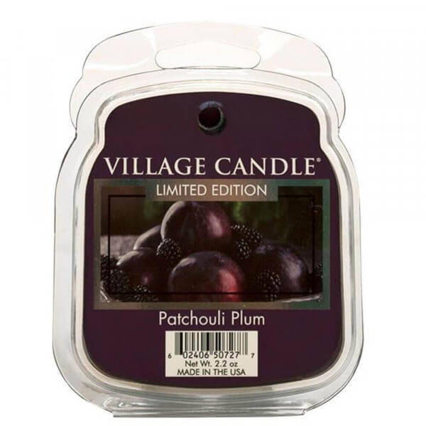 Patchouli Plum 85g von Village Candle