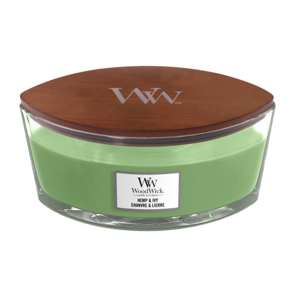 WoodWick Hemp And Ivy 454g
