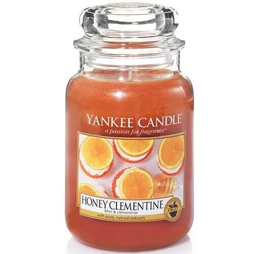 honey clementine 623g von yankee candle online bestellen candle dream. Black Bedroom Furniture Sets. Home Design Ideas