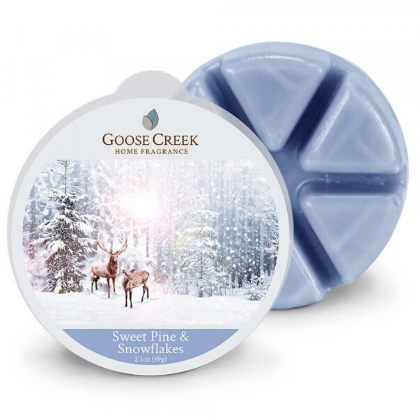 Sweet Pine & Snowflakes 59g von Goose Creek Candle
