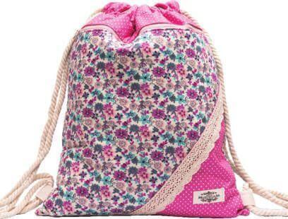 Northlux Patchwork Turnbeutel 177-058 (Pink Florals)