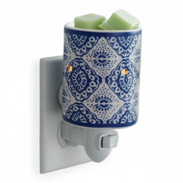 Indigo Porcelain für die Steckdose