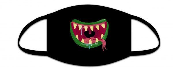 Mund-Nasen-Maske Kids - Monstersmile