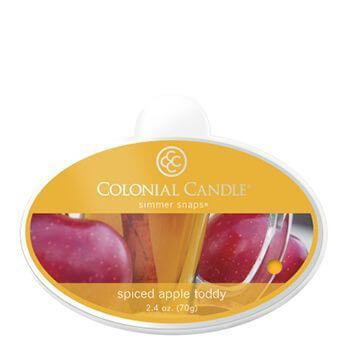 Colonial Candle Spiced Apple Toddy Simmer Snaps 70g
