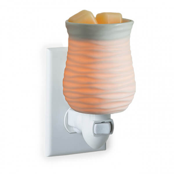 Harmony Duftlampe für die Steckdose weiß