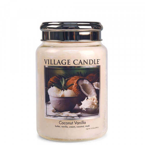 Coconut Vanilla 602g von Village Candle