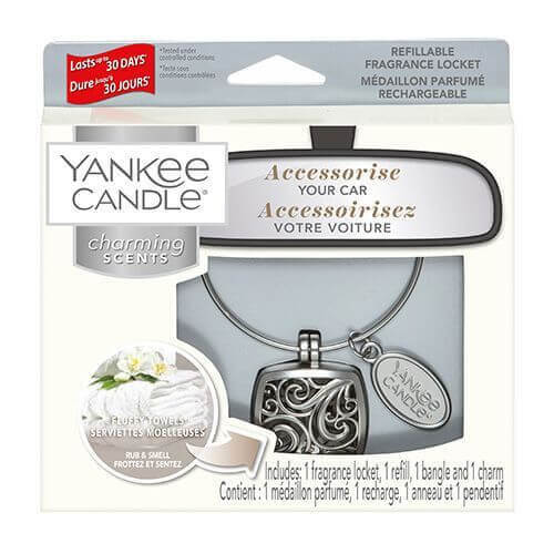 Yankee Candle - Fluffy Towels Square 4-teiliges Starter-Set