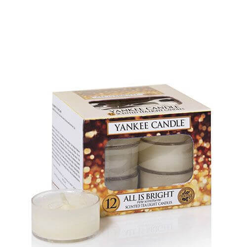 Yankee Candle All is Bright 12St Teelichte
