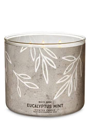 3-Docht Kerze - Eucalyptus Mint - 411g