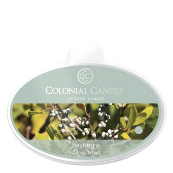 Colonial Candle Bayberry Simmer Snaps 70g