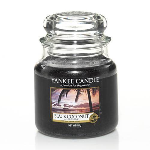 black coconut 411g von yankee candle online bestellen candle dream. Black Bedroom Furniture Sets. Home Design Ideas