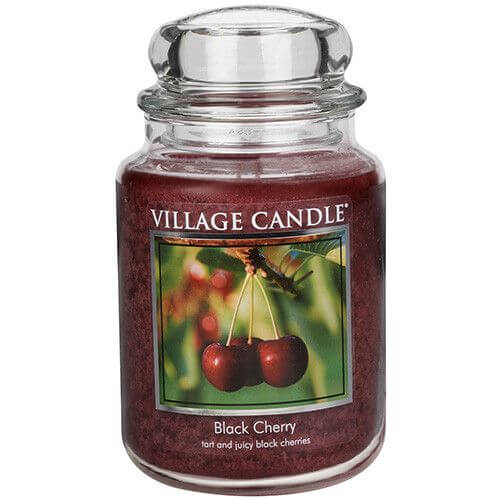 Village Candle Black Cherry Big Jar