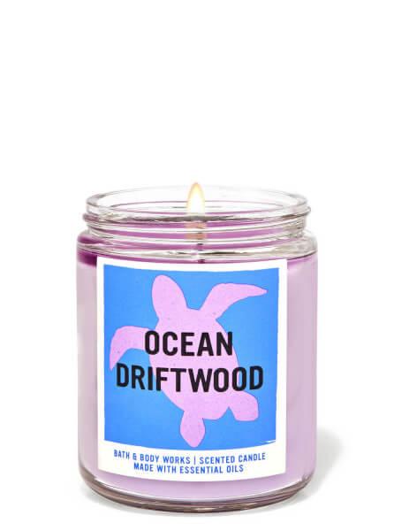 1-Docht Kerze - Ocean Driftwood - 198g