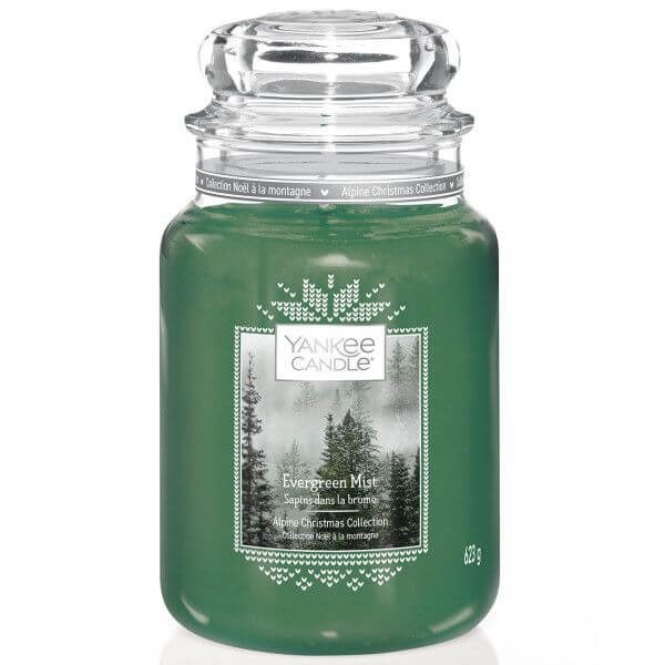 Evergreen Mist 623g von Yankee Candle