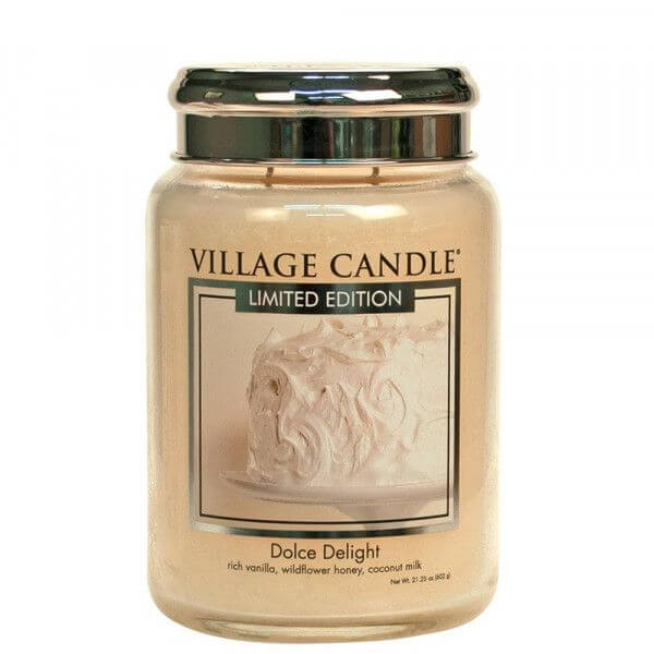 Dolce Delight 626g von Village Candle