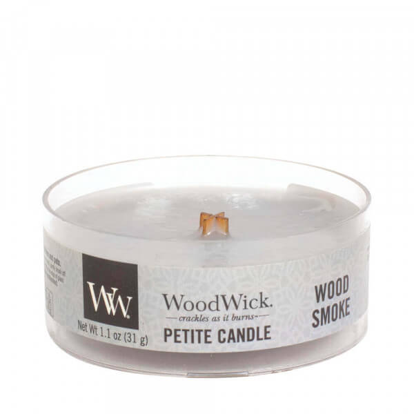 Wood Smoke Petite Candle 31g von Woodwick