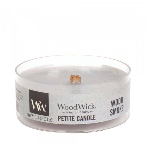 Wood Smoke Petite Candle 31g von Woodwick