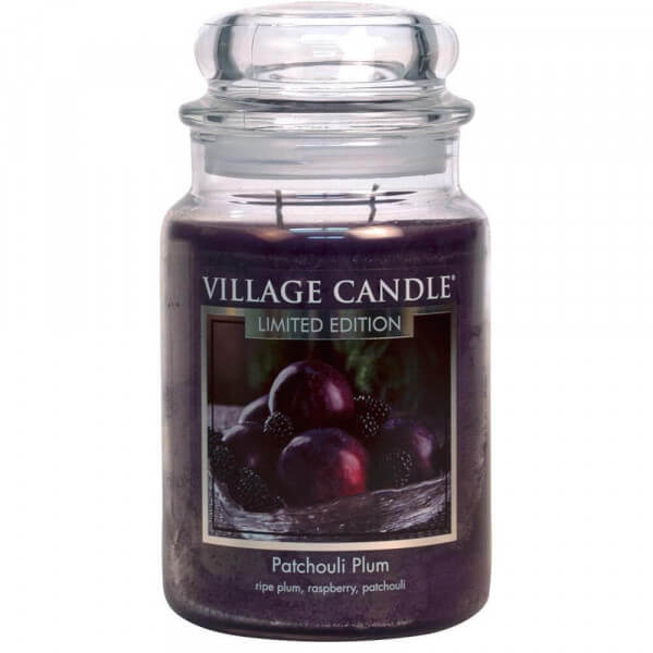 Patchouli Plum 626g von Village Candle