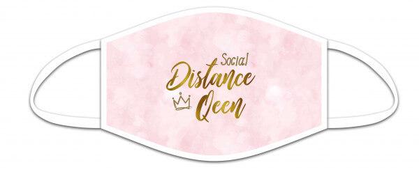Mund-Nasen-Maske - Social Distance Queen