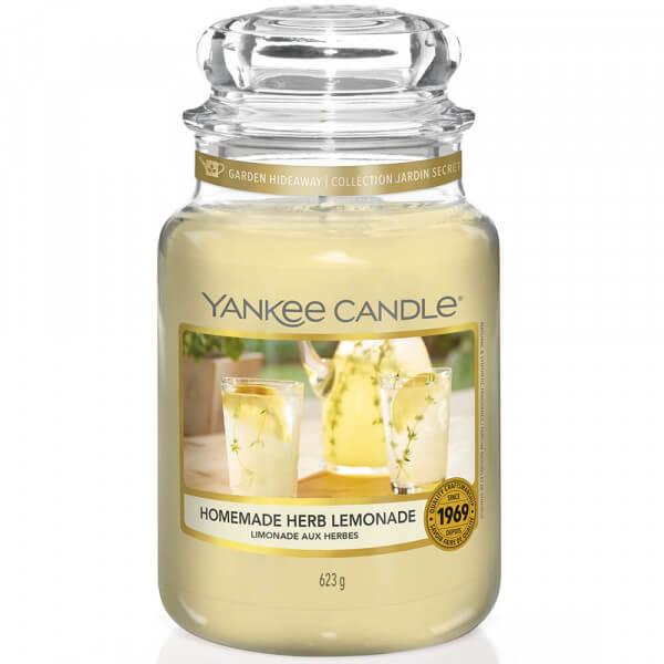 Homemade Herb Lemonade 623g großes Glas von Yankee