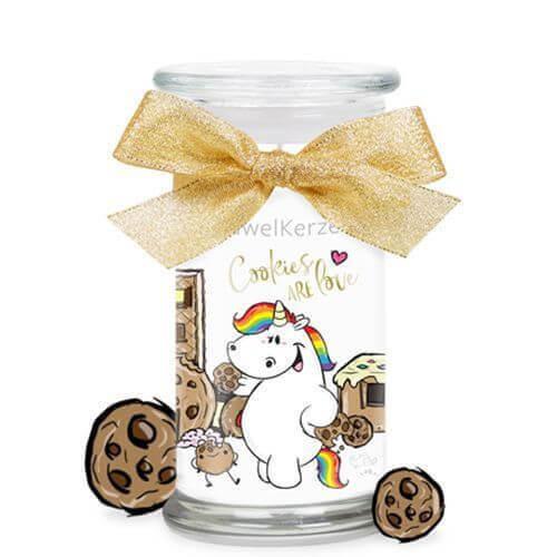 Pummeleinhorn Cookies are Love (Armband) 380g von Juwel Kerze