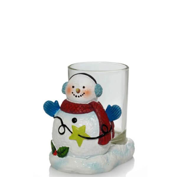 Snowman Votivkerzenhalter