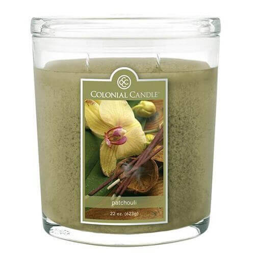 Colonial Candle Patchouli 623g