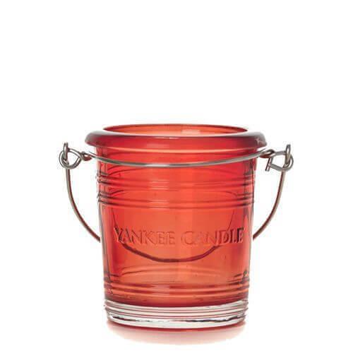 Yankee Candle Bucket Ruby mit Henkel
