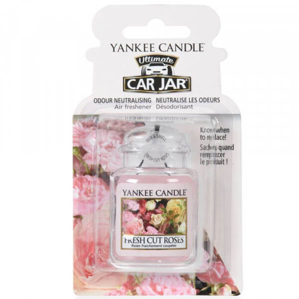 Yankee Candle - Car Jar Ultimate Fresh Cut Roses