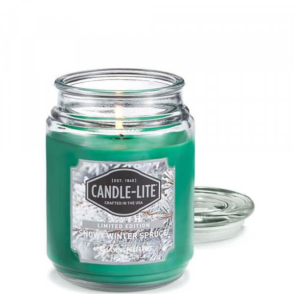 Snowy Winter Spruce 510g von Candle-Lite