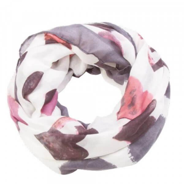 Print-Loop Purple White 001