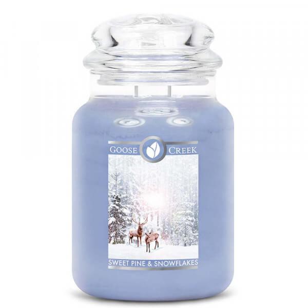 Sweet Pine & Snowflakes 680g von Goose Creek Candle