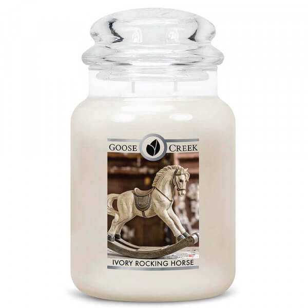 Ivory Rocking Horse 680g von Goose Creek Candle