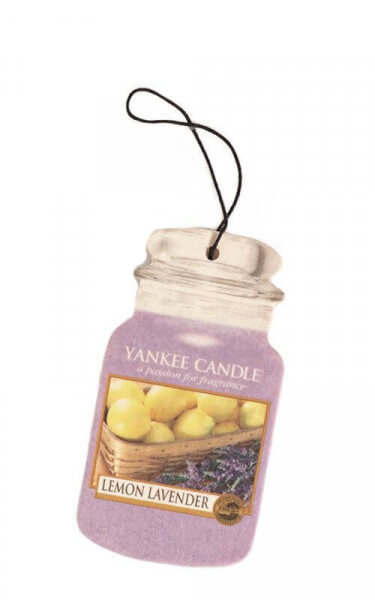 Yankee Candle - Car Jar Lemon Lavender