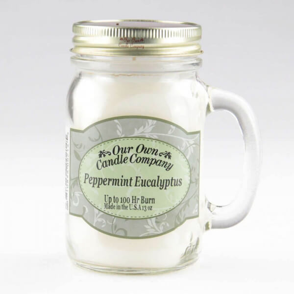 Our Own Candle Company Peppermint Eucalyptus