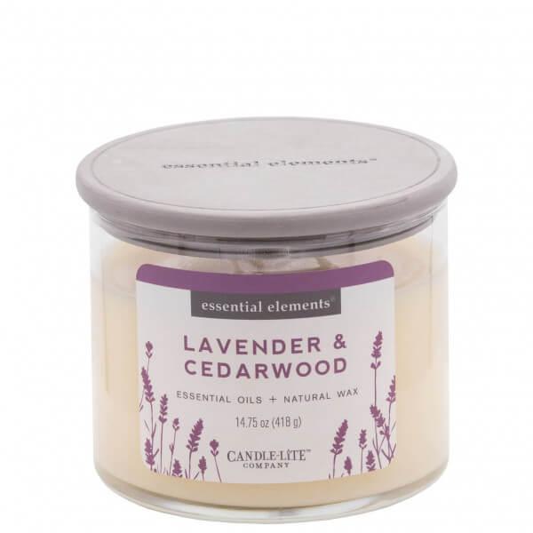 Lavender & Cedarwood 418g von Candle-Lite