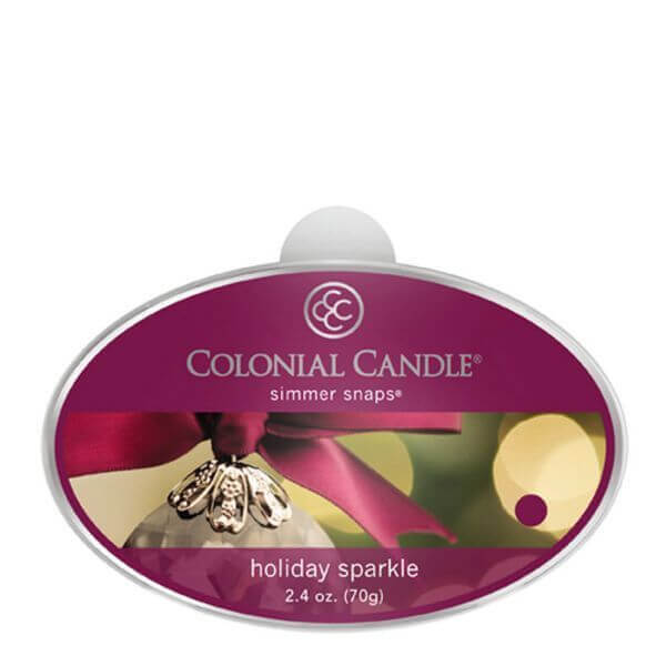 Colonial Candle Holiday Sparkle Simmer Snaps 70g