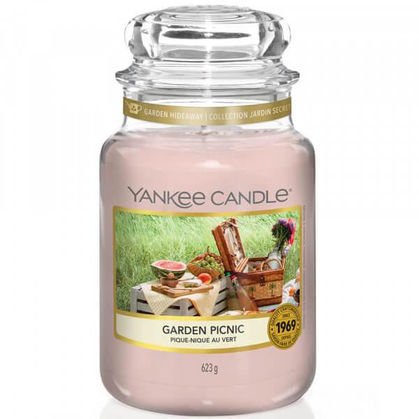 Garden Picnic 623g großes Glas von Yankee Candle