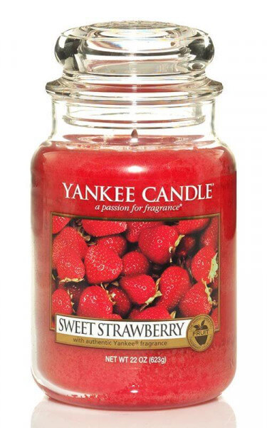 GINGER COOKIE Fragrance Scent 20-22 OZ Yankee Candle STRAWBERRY CINNAMON