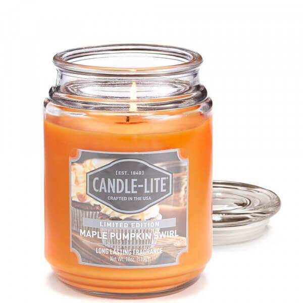 Maple Pumpkin Swirl 510g von Candle-Lite