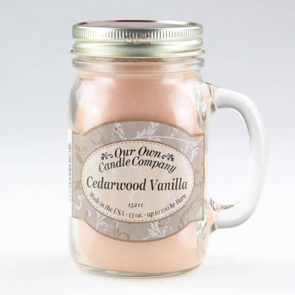 Our Own Candle Company Cedarwood Vanilla