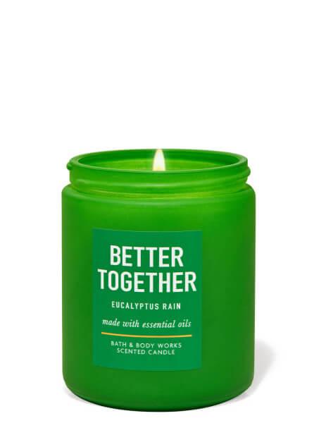 1-Docht Kerze - Better Together - Eucalyptus Rain - 198g