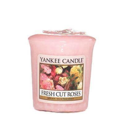 Yankee Candle Sampler - Votivkerze Fresh Cut Roses