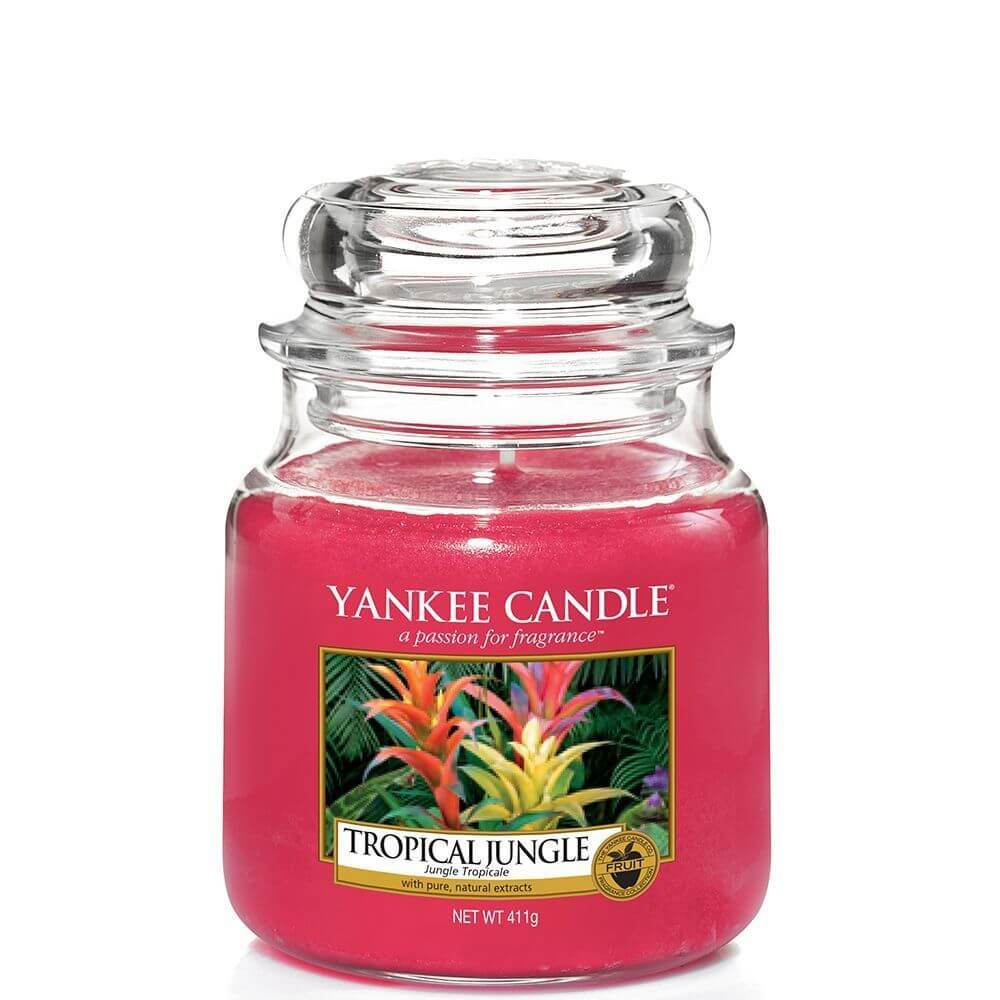 tropical jungle 411g von yankee candle online bestellen candle dream. Black Bedroom Furniture Sets. Home Design Ideas