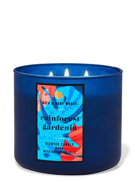 3-Docht Kerze - Rainforest Gardenia - 411g